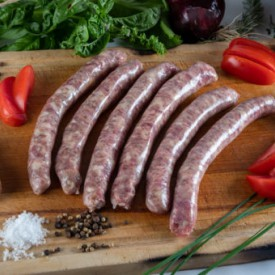 Duck sausages