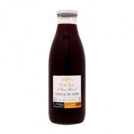 100 % Pur Jus de Raisin Rouge